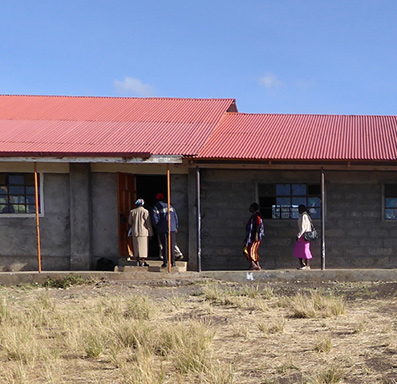 Along with Build AFRICA, we are working to build classrooms where needed